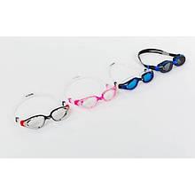 Очки для плавания OK-7 VULCAN-X (поликарбонат, TPR, силикон, цвета в ассортименте)