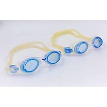 Очки для плавания RAPTOR OK-19 (поликарбонат, TPR, силикон, цвета в ассортименте)