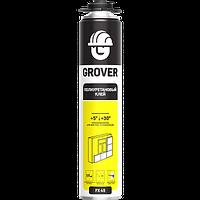 """Полиуретановый клей-пена """"GROVER"""" FX45 (для монтажа теплоизоляции), 718мл"""
