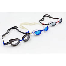 Очки для плавания SPEEDO AQUAPURE (красный-серый)