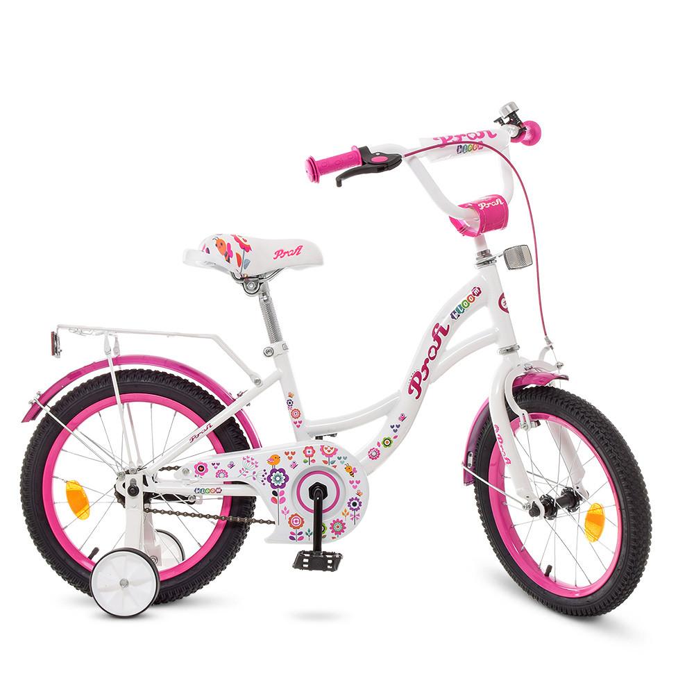 Велосипед дитячий PROF1 18д. Y1825 Білий