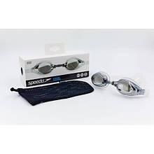 Очки для плавания SPEEDO MARINER OK-43 (поликарбонат, TPR, силикон,  цвета в ассорт)