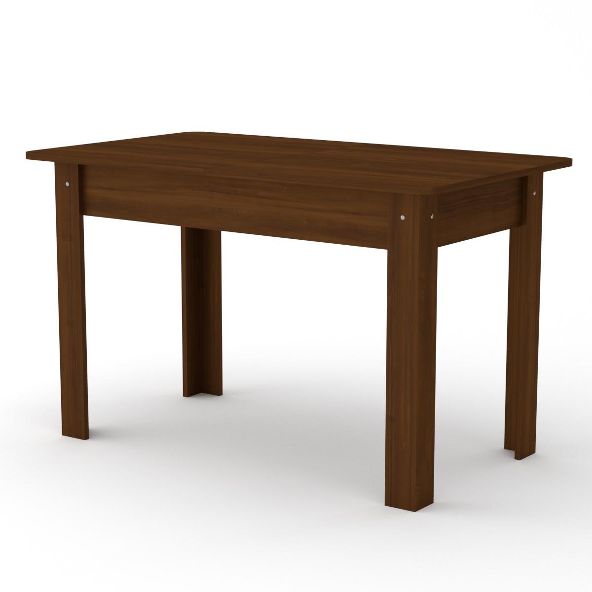 Кухонный стол КС-5 (раскладной стол) орех экко