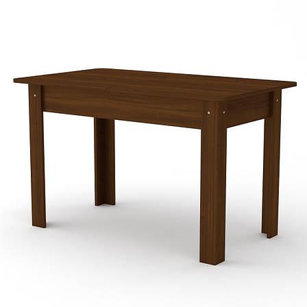 Кухонный стол КС-5 (раскладной стол) орех экко, фото 2