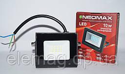 10W Светодиодный Led Прожектор NEOMAX 220V IP65 6500K