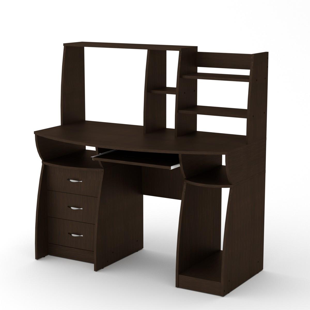 Стол компьютерный комфорт-3 венге Компанит