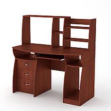 Стол компьютерный комфорт-3 венге Компанит, фото 2