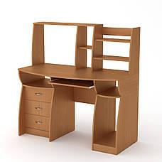 Стол компьютерный комфорт-3 яблуня Компанит, фото 3