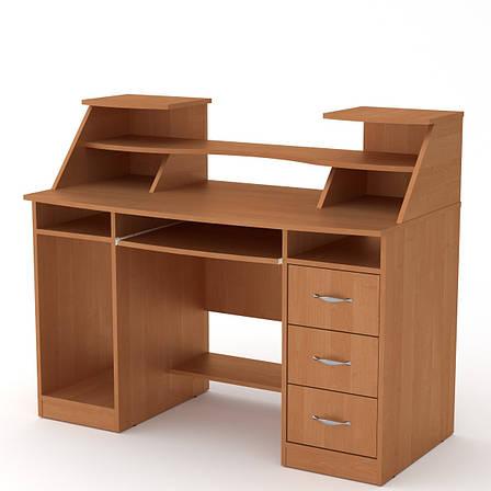 Стол компьютерный комфорт-5 дуб ольха Компанит, фото 2