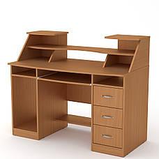 Стол компьютерный комфорт-5 дуб ольха Компанит, фото 3