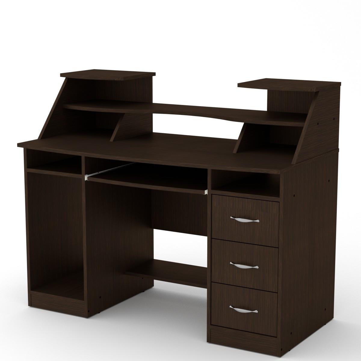 Стол компьютерный комфорт-5 венге Компанит