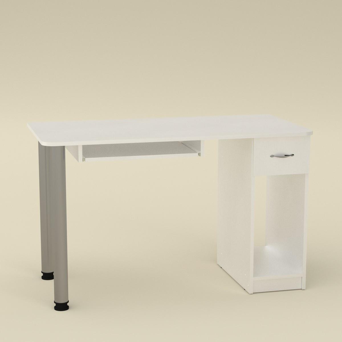 Стол компьютерный СКМ-10 альба Компанит