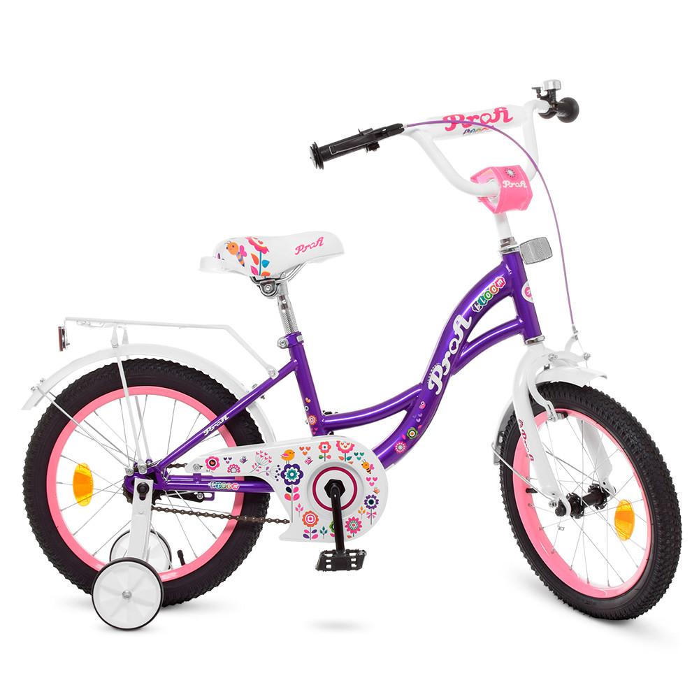Велосипед дитячий PROF1 18д. Y1822-1 Фіолетовий