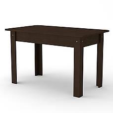 Кухонный стол КС-5 (раскладной стол) альба, фото 2
