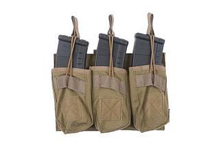 Тройной подсумок OPEN для магазинов AK - tan [Primal Gear] (для страйкбола), фото 2