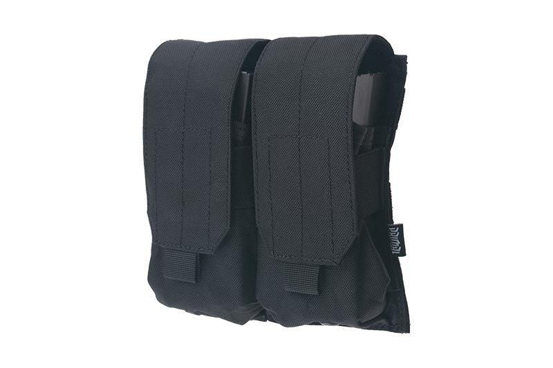 Двойной подсумокдля магазинов типа M4/M16 - black [Primal Gear] (для страйкбола)