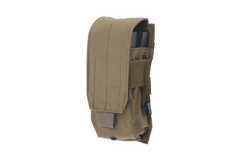 Одинарный подсумок для магазина do M4/M16 - tan [Primal Gear] (для страйкбола)