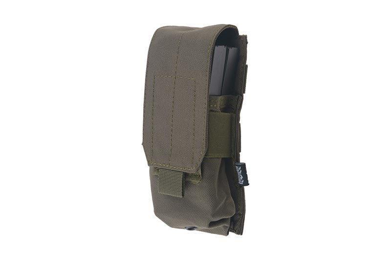 Одинарный подсумок для магазина do M4/M16 - olive [Primal Gear] (для страйкбола)