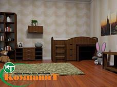 Кровать двухярусная Универсал нимфея альба, фото 3
