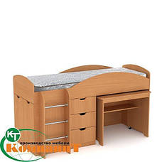 Кровать двухярусная Универсал венге, фото 3