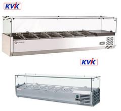 Витрина холодильная для топпинга 7GN1/4 Rauder SRV 1500/330