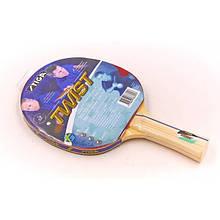 Ракетка для настольного тенниса SGA OMEGA,FIGHT,FOCUS,TWIST TR-31 (древесина,резина)