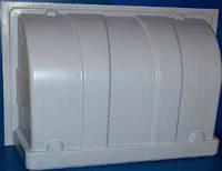 Світлозахист для клапана приточного малого білий 867х587х279