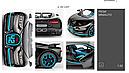 Коллекционный автомобиль Bugatti (черный), фото 6