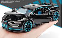 Коллекционный автомобиль Bugatti (черный)