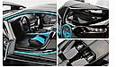 Коллекционный автомобиль Bugatti (черный), фото 9