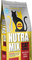 Сухой корм Nutra Mix Maintenance для взрослых кошек всех пород 22.7 кг