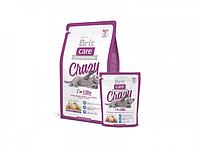 Сухой корм для кошек Brit Care Cat 7 кг Crazy, для котят