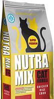 Сухой корм Nutra Mix Maintenance для взрослых кошек всех пород 9,07 кг