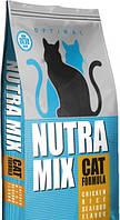 Сухой корм Nutra Mix Seafood для кошек всех пород 9.07 кг