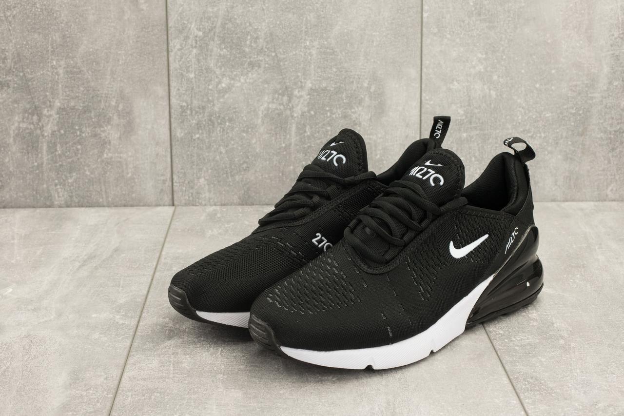 77b2fb9b Весенние мужские кроссовки Nike Air Max 270 стильные молодженые  качественные найки (черные), ТОП