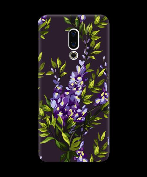 Силиконовый чехол СP-Case на Meizu 16X Violet