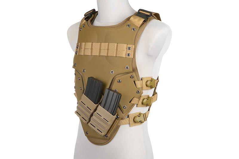 Жилет тактический (разгрузочный) T3 - tan [GFC Tactical]