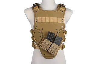 Жилет тактический (разгрузочный) T3 - tan [GFC Tactical], фото 2