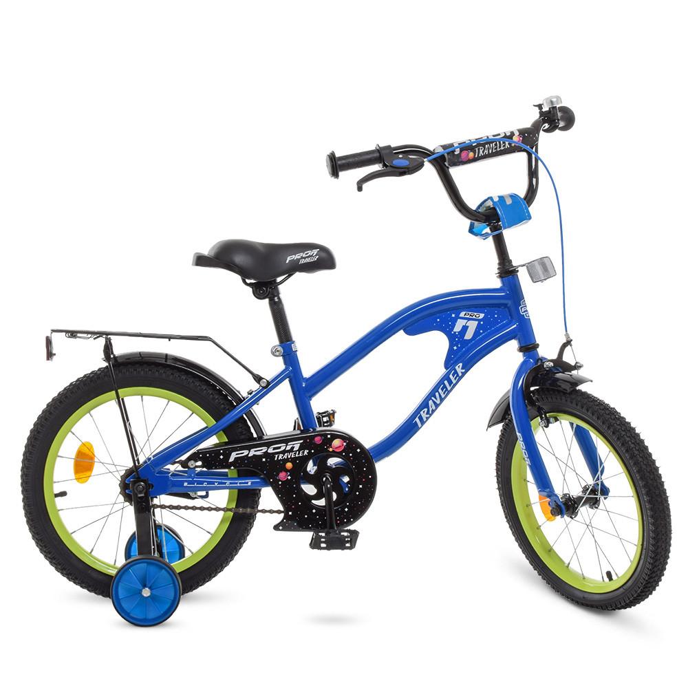 Велосипед дитячий PROF1 18д. Y18182 Синій