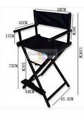 Стул для макияжа, для визажиста. Режиссёрское кресло. Складной, деревянный., фото 3