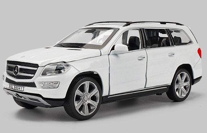 Машина металл Mercedes GL500 1:32 Белый
