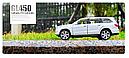 Машина металл Mercedes GL500 1:32 Белый, фото 3