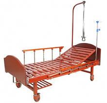 Кровать механическая E-17B Праймед (1 функция) ЛДСП