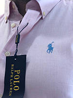 Модная коттоновая рубашка ralph lauren мужская