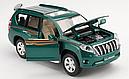 Коллекционный автомобиль Toyota Land Cruiser Prado (зеленый), фото 7