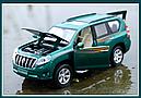 Коллекционный автомобиль Toyota Land Cruiser Prado (зеленый), фото 5