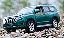 Коллекционный автомобиль Toyota Land Cruiser Prado (зеленый), фото 4