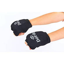 Накладки (рукавички) для карате DAEDO (поліестер, р-р XS-XL, чорний) NK-2