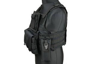 Разгрузка типа Plate Carrier - black [GFC Tactical] (для страйкбола), фото 3