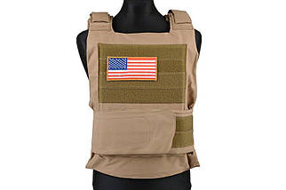Жилет тактический (разгрузочный) Personal Body Armor - tan [GFC Tactical] (для страйкбола), фото 2